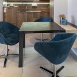 """Speisezimmersessel Modell """"Grand chair"""" SONDERPREIS: 3 Stück mit Microcarestoff abwaschbar 809 € (statt 1.240 €)"""