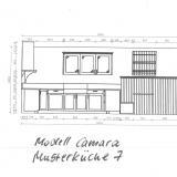 """Musterküche 7 Modell """"Camara"""" schwarz-weiß VERKAUFT"""
